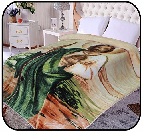 Religious Jesus St Jude Korean Mink Blanket Makes A Great Bed Cover While Keeping You Warm